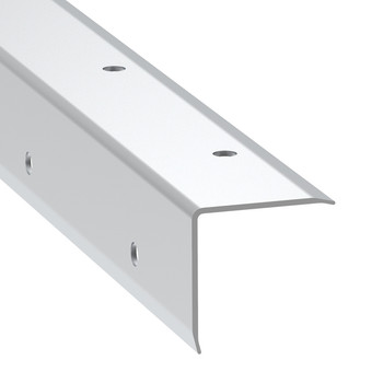 Angle Corner Extrusion Pre-Punched/1-3/16x12ft CUT in half