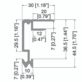 Lid Maker 1/4  6.5 feet E2540