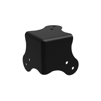 Flat Corner - Large Black