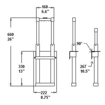 Pull-out Handle / 3 Stage / Recessed