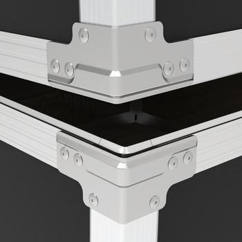 """FW20 QuickClamp™ Brace Set for 3/8"""" Panels Hybrid Extrusion Must read description below"""