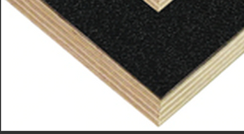Laminated Luan Ply / 9mm 3/8 / ABS Plastic / BLACK