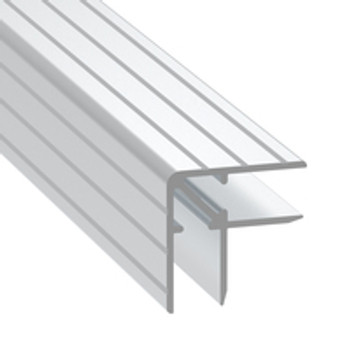 "3/8"" Double Angle Corner Extrusion - 12 ft.Cut in half"