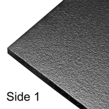 "Flight Panel/ Composite Sheet  3/8"" 10mm Thick / Black"