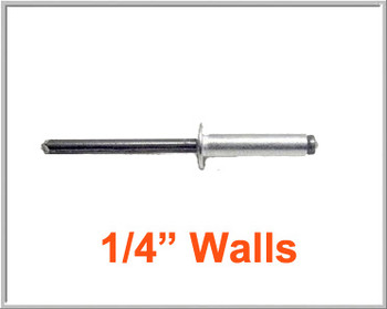 "1/4"" Case Wall Rivet"