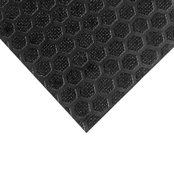 "Hexa Birch Black Hex Pattern / 1/2"" Thick"