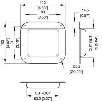 Connector Dish / Medium / Blank