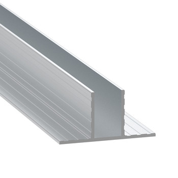 "1/2"" T-Channel Divider Extrusion - 6 ft."