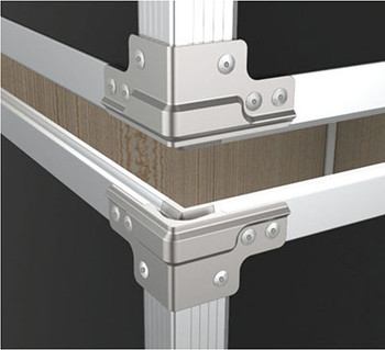 """FW14 QuickClamp™ Brace Set for 1/4"""" Panels Must use matching tongue and groove read description below"""
