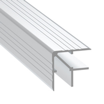 "1/2"" 13mm Double Angle Corner Extrusion - 6.5 ft."