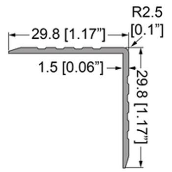 "Single Angle Corner Extrusion - 79"""