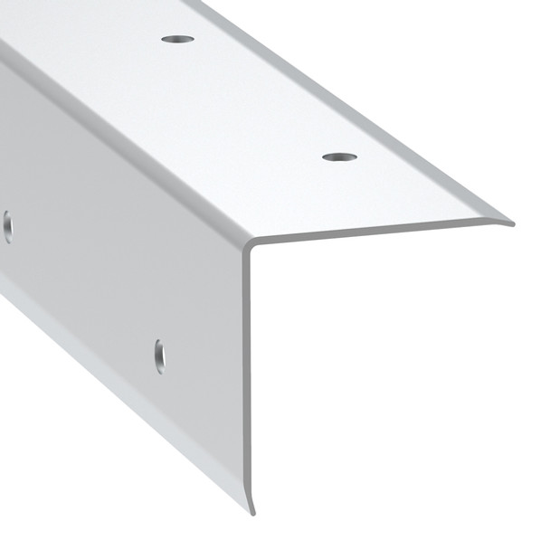 Angle Corner Extrusion Pre-punched/1-1/2x12FT CUT in half