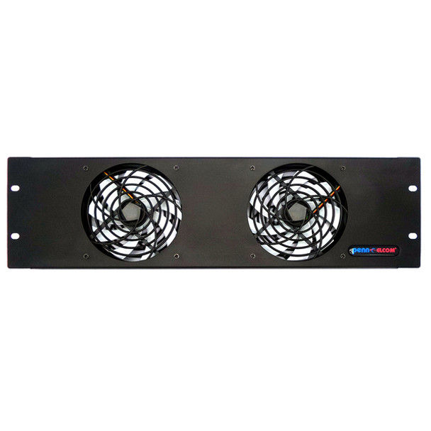 COOLING FAN FP02-Q-3UFull  FRONT VIEW