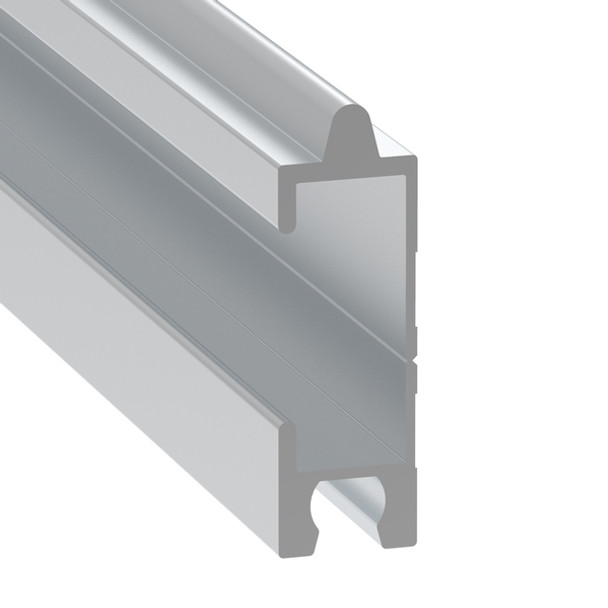 1/2 inch Break-Apart Tongue & Groove Extrusion 12 ft Cut In Half