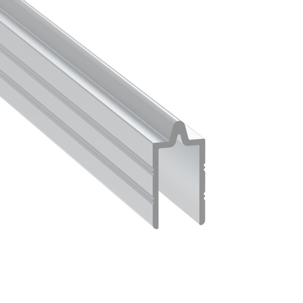 """3104 3/8"""" Groove Extrusion Male - 12 ft. Cut in Half"""