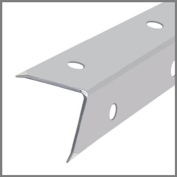 Single Angle Corner Extrusion/ XL /Pre-punched/12 ft