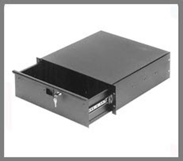 Generic Side View - Drawer Slides Are Self-Contained