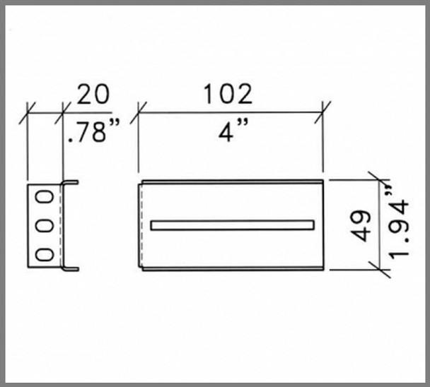 Rack-mount Drawer Slide Brackets / Pair / Heavy-duty