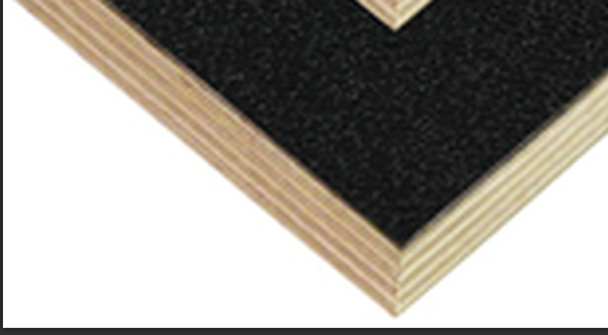 Laminated Birch Ply / 12mm Thick / ABS Plastic / BLACK
