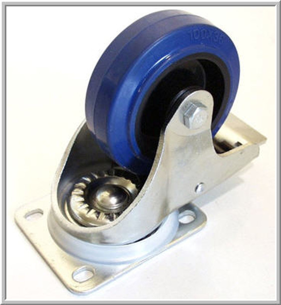 "Caster / 4"" (100mm) / Swivel / With Brake"