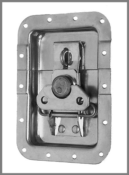 Latch / Padlockable  / Large / Recessed / Offsets