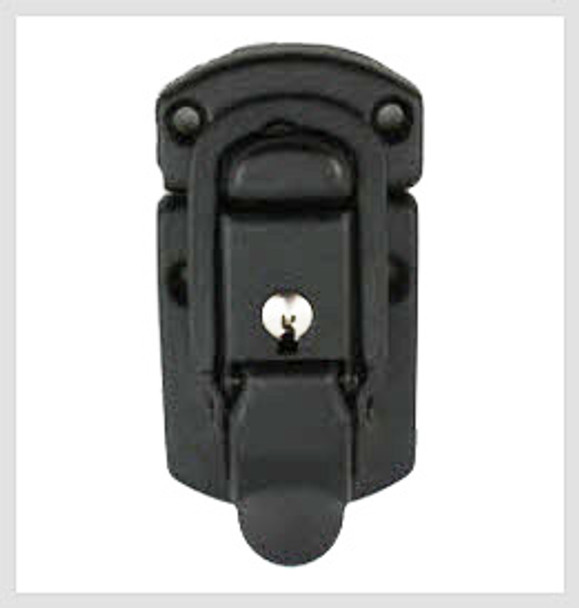 Draw Latch / Locking / Black