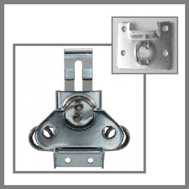 Padlockable Twist Latch