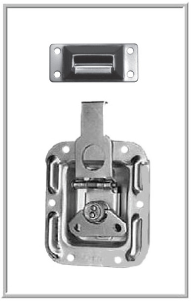 Latch / For Access Doors & Connecting Cases / Small / Recessed