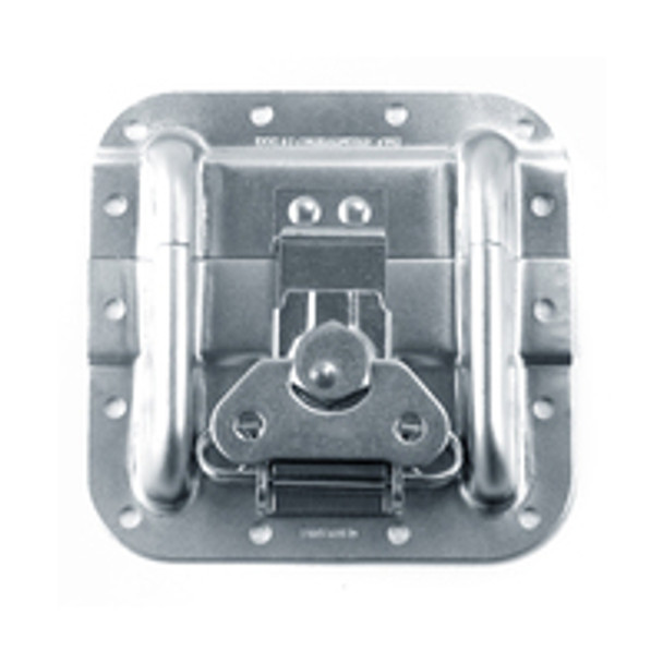 Surface Latch Plate With Protectors / With Extrusion Offsets