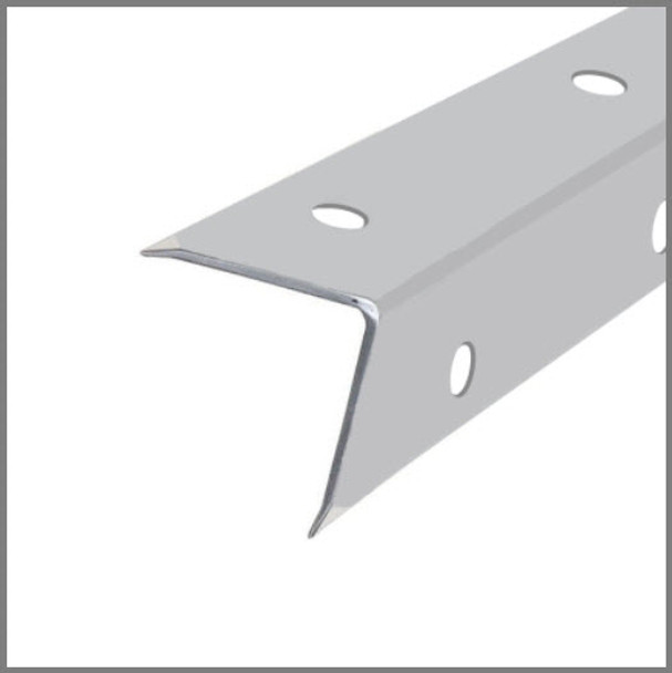 Single Angle Corner Extrusion Pre-Punched/1-3/16/6ft.