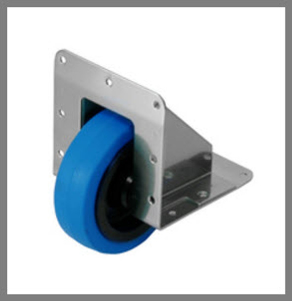 Recessed Edge Caster/Heavy Duty/1 pc.