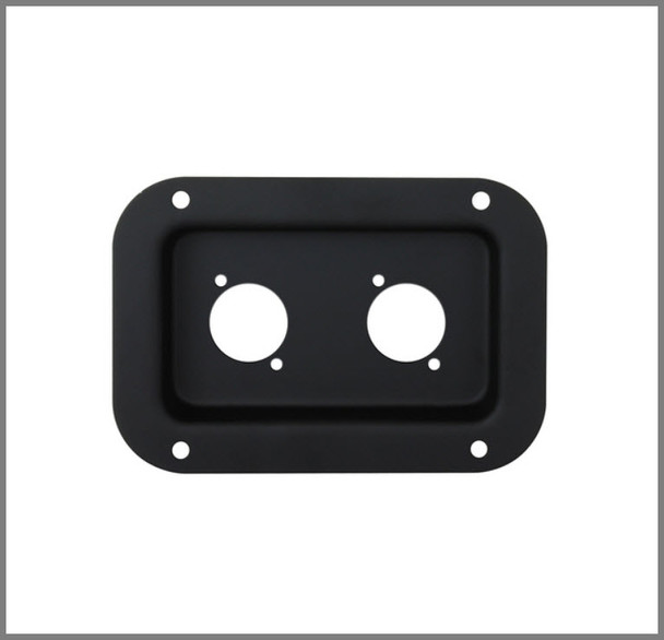 Connector Dish / Rectangle / Black