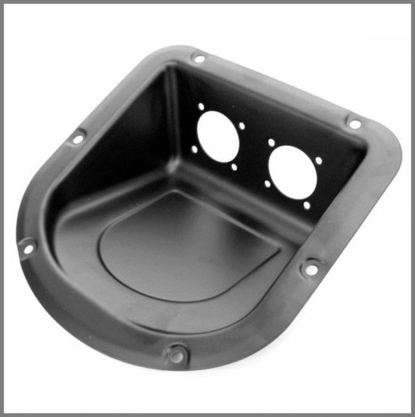 Connector Dish / Vertical Insert / Black