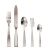 thumbnail image of Gio Ponti Satin Matte 18/10 Stainless Steel 5 pcs Place Setting, solid handle