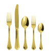 thumbnail image of Sambonet Filet Toiras Gold 5 pcs Place Setting, solid handle