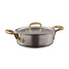 thumbnail image of 1965 Cookware 18/10 Stainless Steel Casserole Pot with Lid, 2 handles, 7 7/8 inch, 83 1/5 ounce