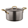 thumbnail image of 1965 Cookware 18/10 Stainless Steel Saucepan with Lid, 2 handles, 9 1/2 inch, 217 3/5 ounce