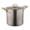 thumbnail image of 1965 Cookware 18/10 Stainless Steel Stock Pot with Lid, 2 handles, 7 7/8 inch, 185 3/5 ounce