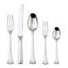 thumbnail image of Continental Silverplated on 18/10 Stainless Steel 5 pcs Place Setting, solid handle