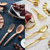 thumbnail image of Living PVD Gold Serving Spoon and Fork Set