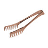 thumbnail image of Living PVD Copper Spaghetti Tongs, 8 1/4 inch