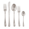thumbnail image of Symbol 18/10 Stainless Steel 5 pcs Place Setting, solid handle