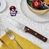 thumbnail image of Steak Knives Stainless Steel & Wood Porterhouse Steak Knife, non-serrated, 10 inch