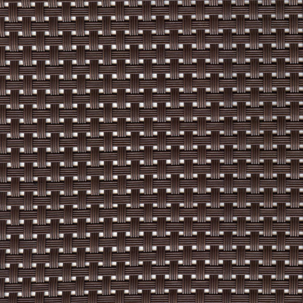 Sambonet Linea Q Table Mats Table mat, brown, 16 1/2 x 13 inch