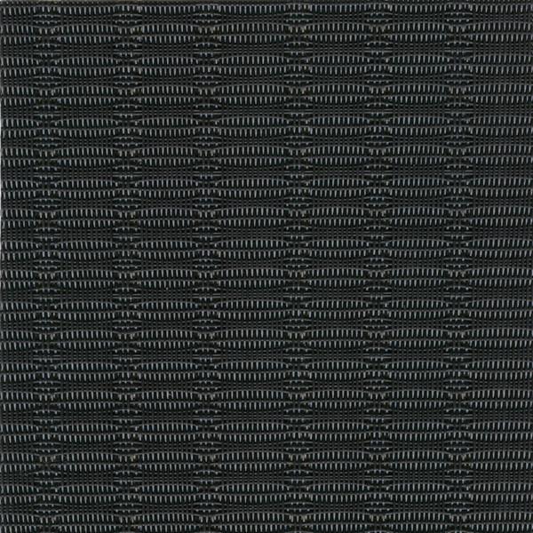 Sambonet Linea Q Table Mats Table mat, black (b), 16 1/2 x 13 inch