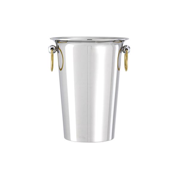 Sambonet Elite White wine cooler, 7 7/8 x 9 7/8 inch