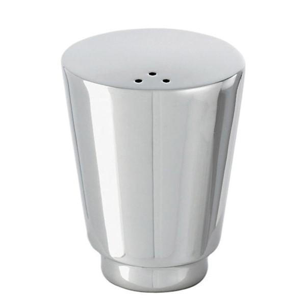 T Light Stainless Steel Pepper shaker, large, 1 7/8 x 1 5/8 inch
