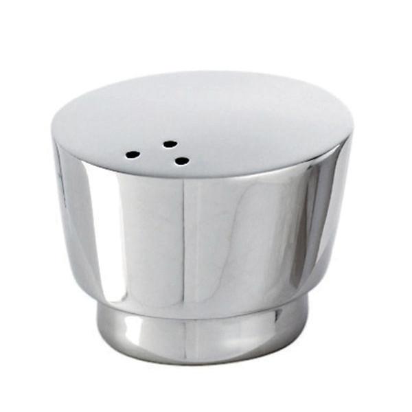 T Light Stainless Steel Pepper shaker, small, 1 5/8 x 1 3/8 inch