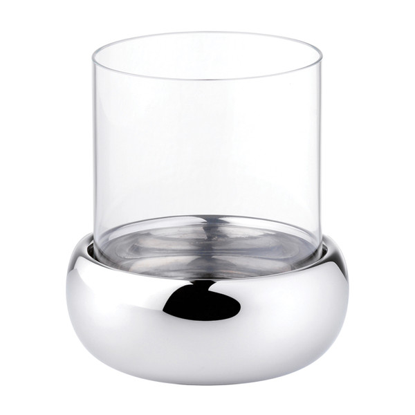 Sambonet Sphera Spare glass for candle holder, 4 3/4 inch