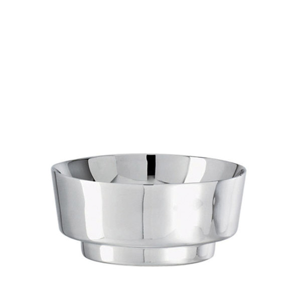 T Light Stainless Steel Oval bowl, 4 3/8 x 3 3/4 inch
